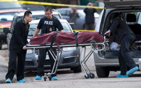 Calgary stabbing suspect is police officer's son