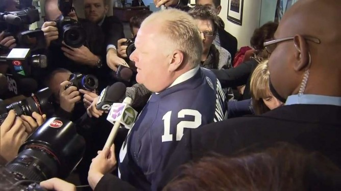 Mayor Ford s approval rating falls