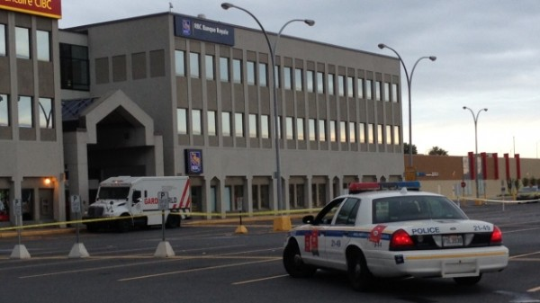 Armoured car thieves in Brossard