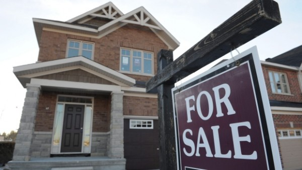 Canadian house price rises