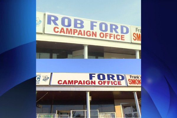 Ford's mayoral campaign launch