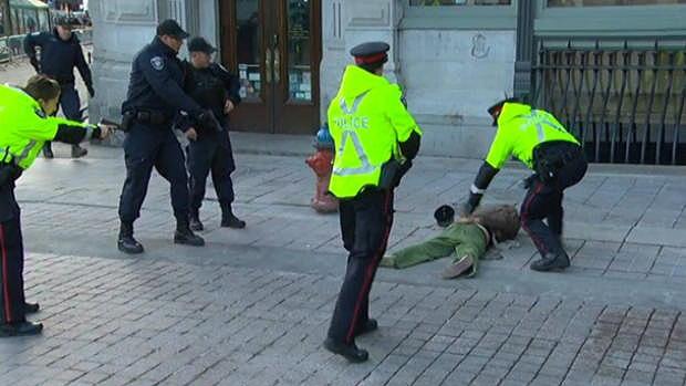 Arrest in Ottawa