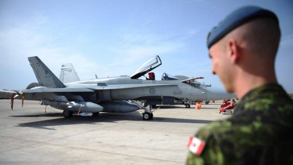 Canadian fighter jets