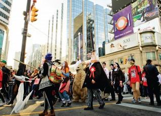 Парад мертвецов – Toronto Zombie Walk 2014