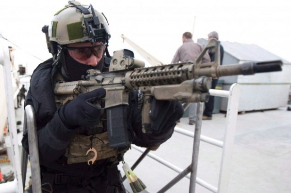 Special forces troops involved in firefights