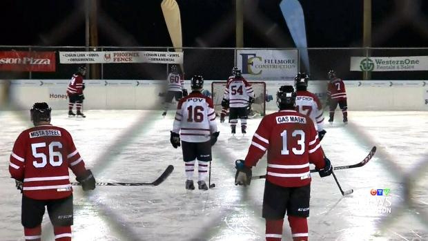 Record Hockey Game