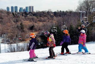 На лыжах с ветерком!