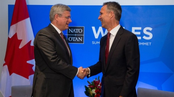 Harper to meet with NATO chief