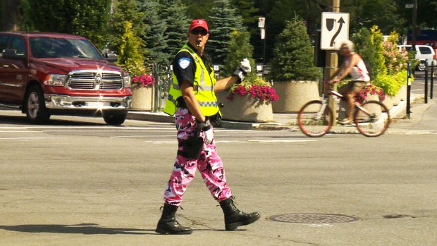 Camuflage Pants Police
