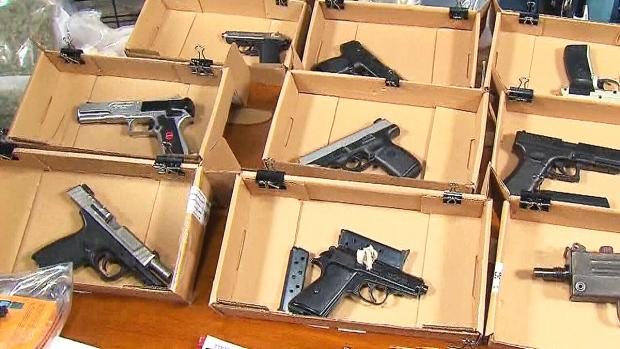 Gangsters Guns