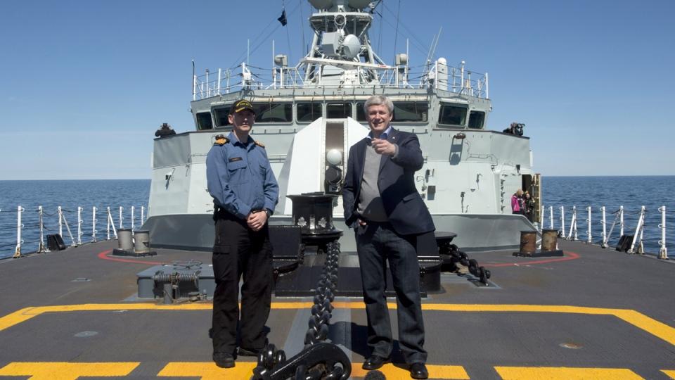 Harper on Board