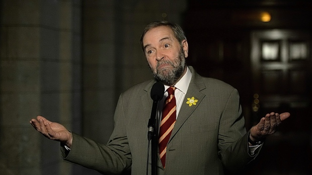 Mulcair almost became Tory adviser