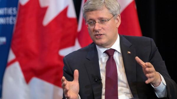 Harper  Canada Day message