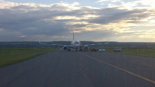 WestJet flight diverted