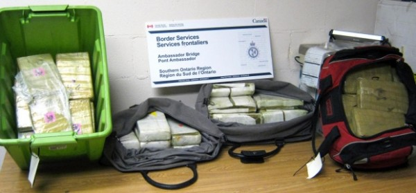 Ambassador Bridge cocaine bust