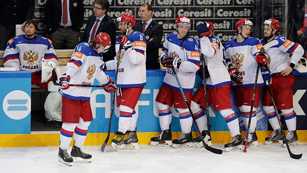 Russians Left the Ice