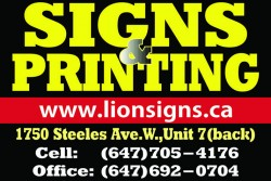 Signs & Printing