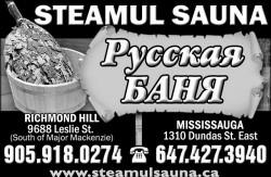 Steamul Sauna