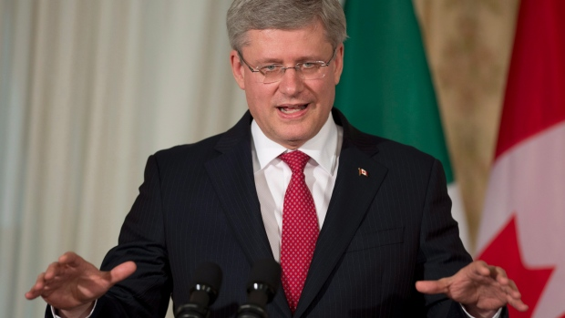 Harper about Russians in Syria