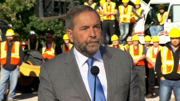 NDP would end Canada's mission in Iraq, Syria