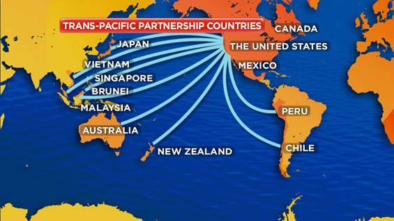 Trans-Pacific Partnership trade agreement