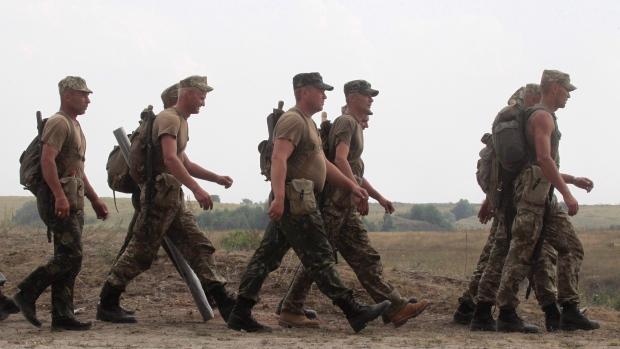 Canadian Troups in Ukraine