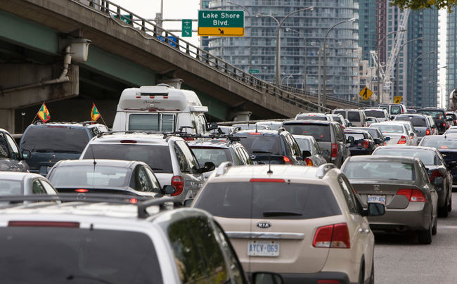 Toronto Traffic Congestion