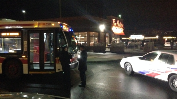hijacks Toronto bus to go to Tim Hortons