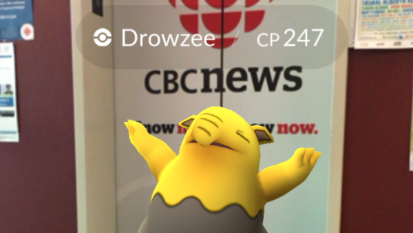 Pokemon Go Drowsy