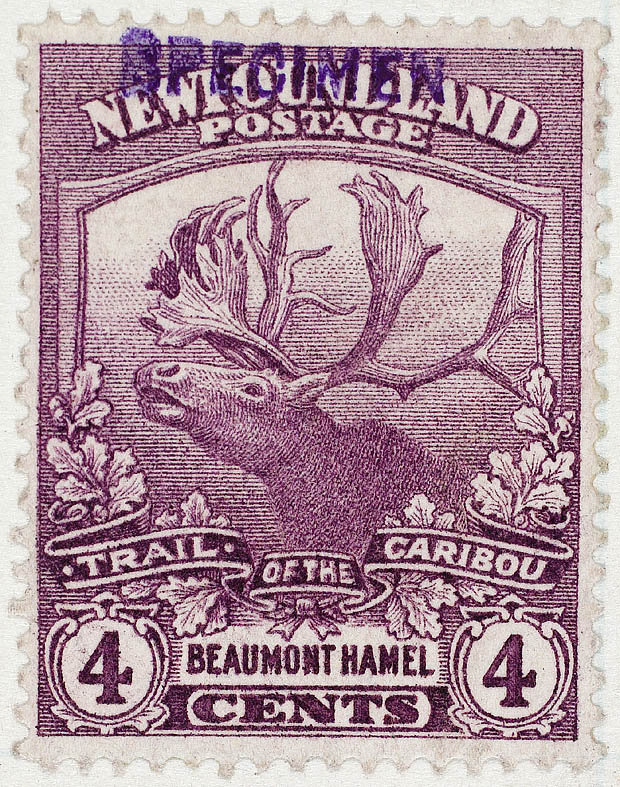 Trail_of_Caribou_-_Beaumont_Hamel_Stamp