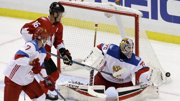 Русские хоккеисты проиграли Канаде выставочный матч вСША