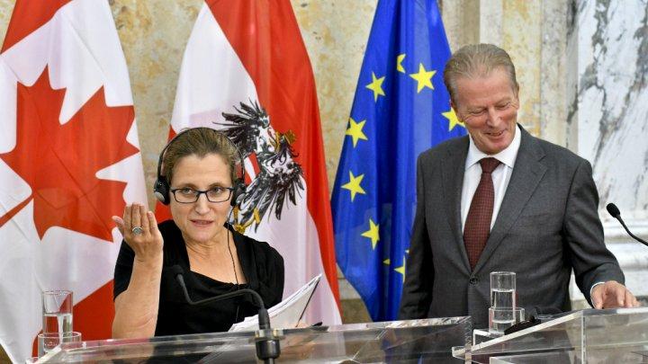 Бельгия поддержала торговый договор междуЕС иКанадой