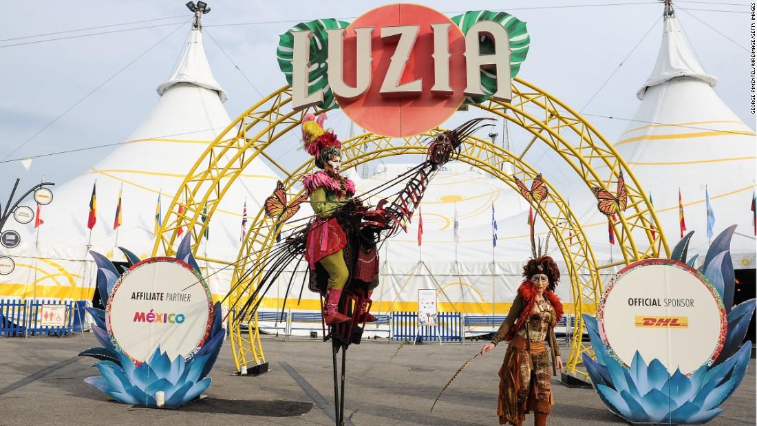 Впроцессе репетиции «солнечного цирка» умер рабочий