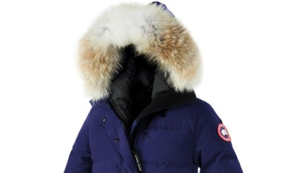 is the fur on canada goose jacket real
