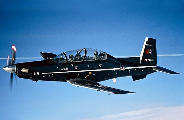 Самолет ВВС Канады потерпел крушение вцентре страны