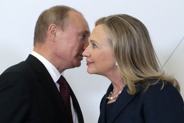 Putin Clinton