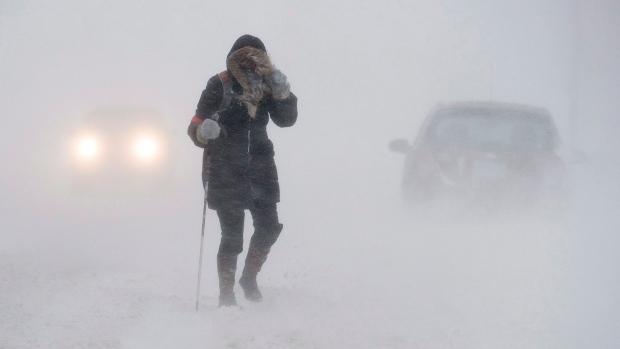 Транспортное сообщение нарушено навостоке Канады из-за сильного снегопада