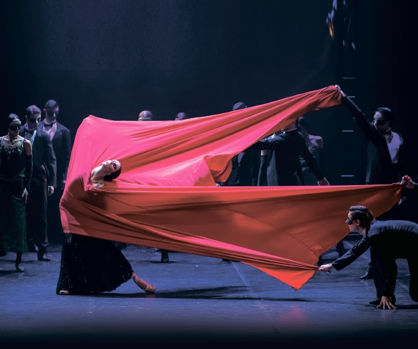 40 лет. Театр балета Бориса Эйфмана со спектаклем-легендой «Красная Жизель»