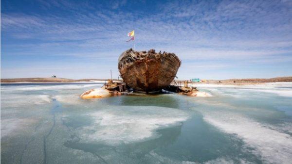 Корабль Амундсена отправится на родину из Канады