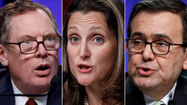 ВСША завершен 1-ый раунд переговоров поNAFTA