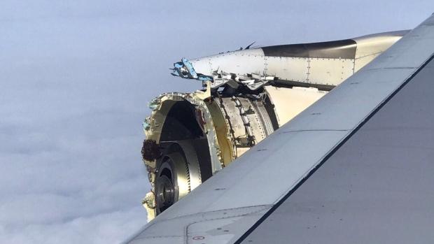 Экстренная посадка пассажирского самолета в Канаде произошла из-за отказа двигателя