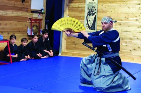 Школа традиционной японской борьбы Эдуарда Дивантмана
