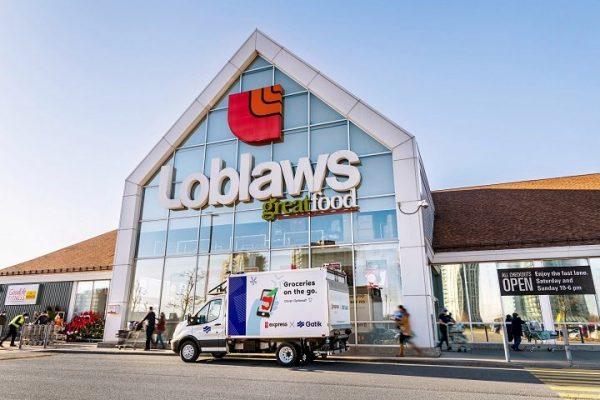 Супермаркеты Loblaws протестируют беспилотные автомобили доставки